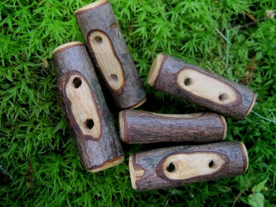 Rustic Toggle Buttons Perfect Accessory For By