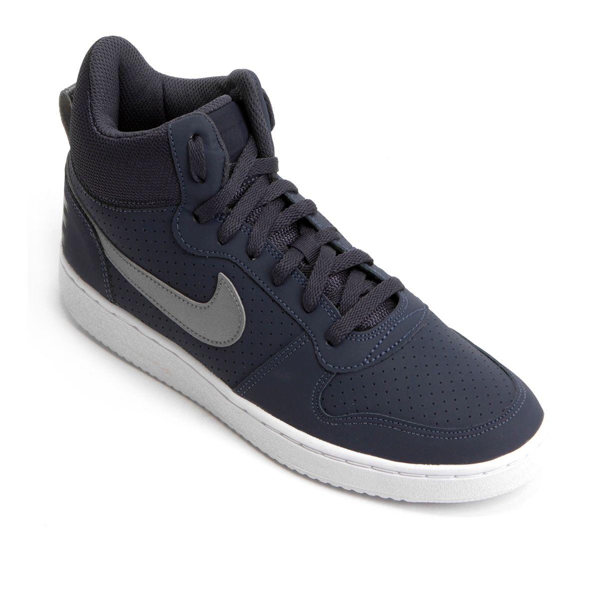 41a4782d7 Tênis Couro Cano Alto Nike Recreation Mid Masculino - Compre Agora ...
