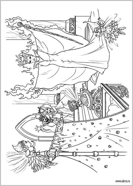Раскраски Малефисента (Disney Maleficent coloring pages) | coloring ...