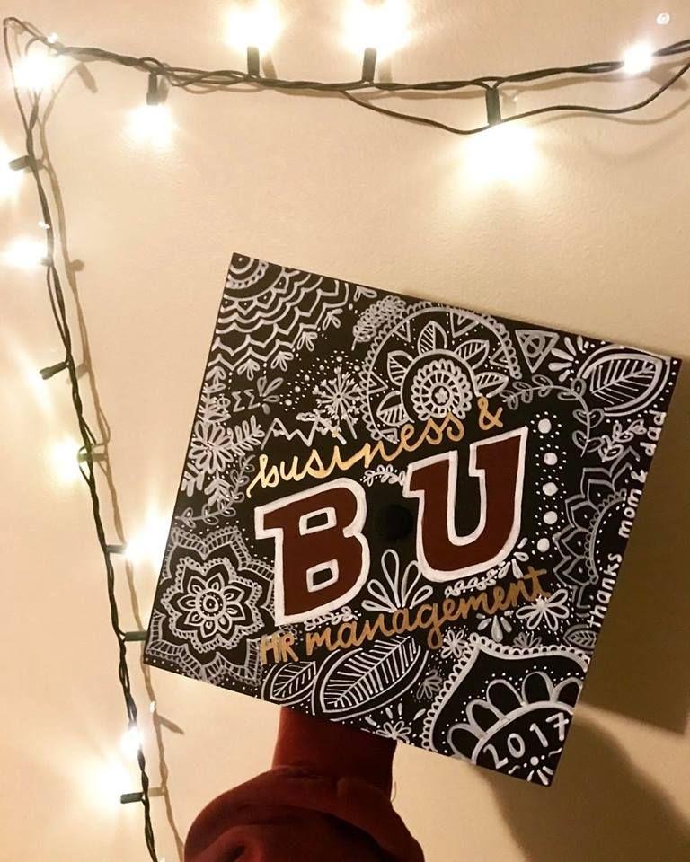 My graduation cap for Bloomsburg University
