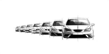 Esta es la historia del SEAT Ibiza, testigo de los cambios