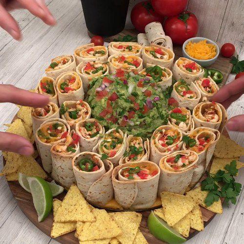Frango ao guacamole #buffet