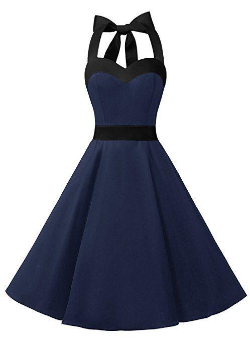 50er Jahre Vintage Retro Rockabilly Petticoat Kleid von Dresstells