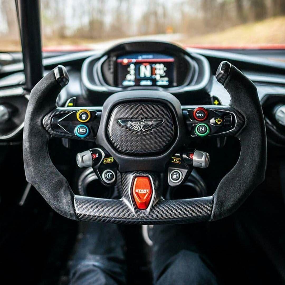 The Interior Of The Aston Martin Vulcan Is Incredible Cc