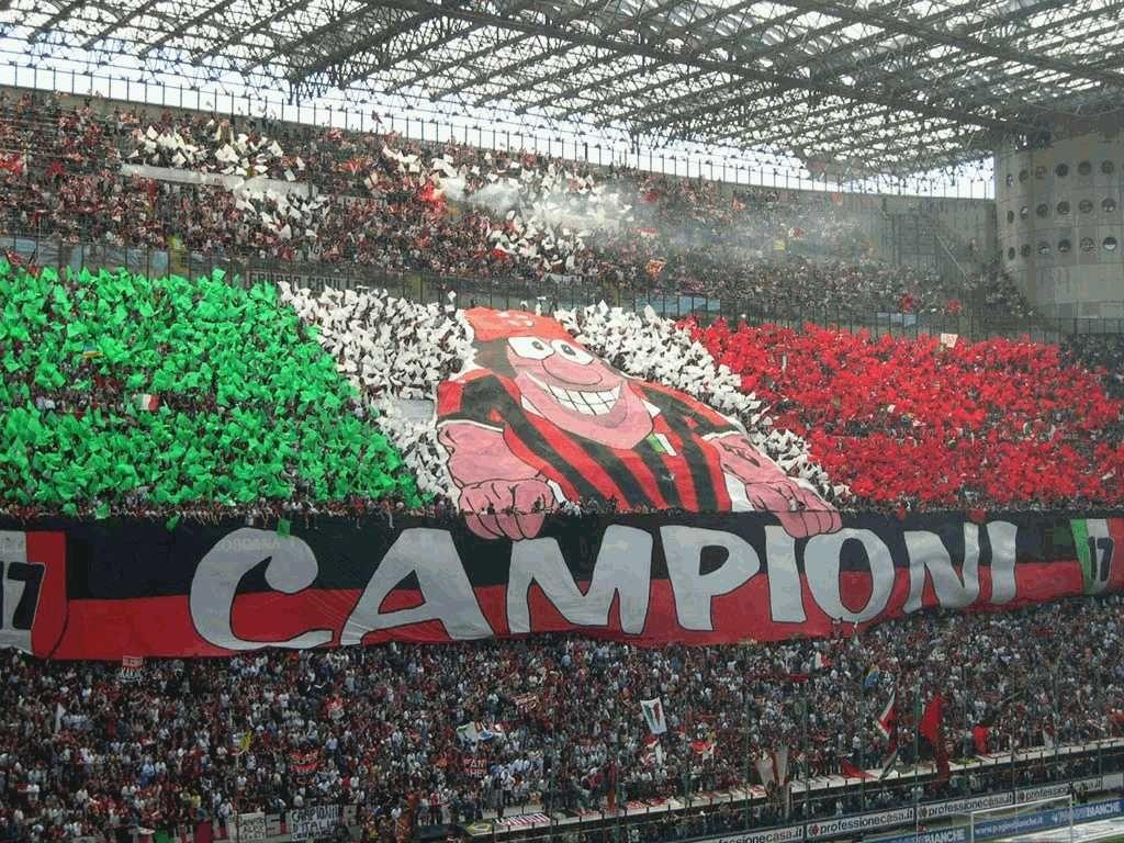 Gambar DP BBM AC Milan Logo Sepak Bola Pinterest Milan And