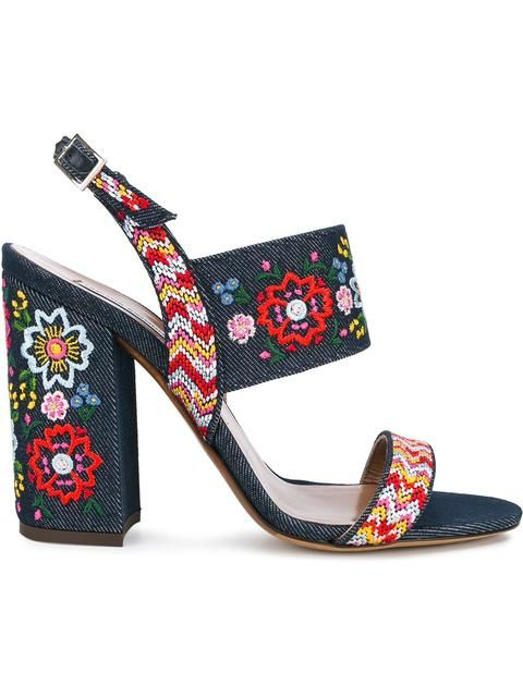 6c1e71df58e0 TABITHA SIMMONS Senna Festival embroidered sandals.  tabithasimmons  shoes   sandals