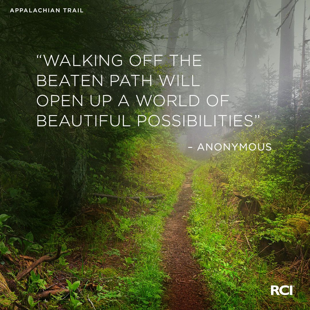 Walking off the beaten path will open up a world of ...