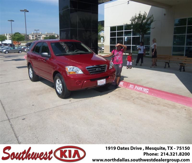Congratulations to MARQUASHA BATTLES on her 2008 KIA SORENTO