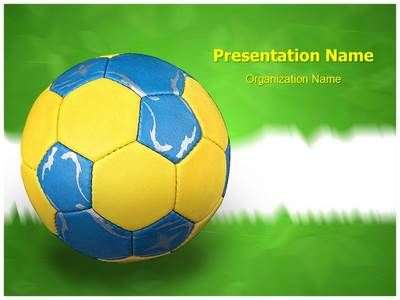 Football Powerpoint Template Soccer Goalkeeper Powerpoint Template