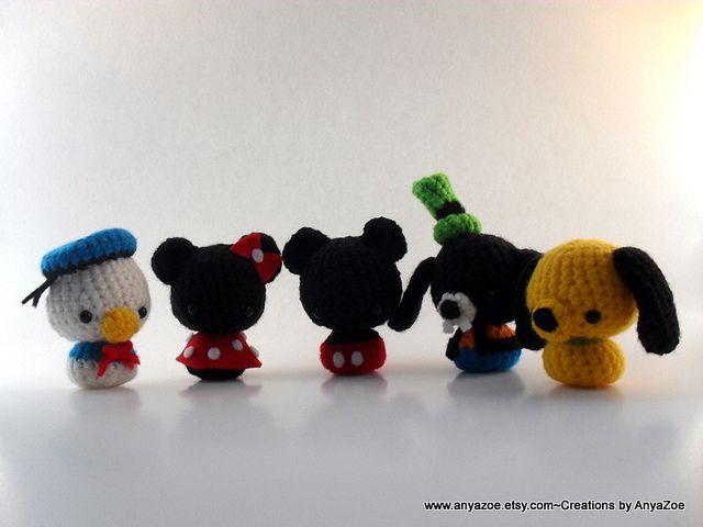 Amigurumis Personajes De Disney : Disney amigurumi amirigumi patrones amigurumi y tejido