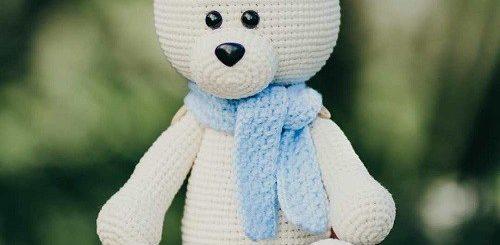 Crochet bear amigurumi #crochetbearpatterns