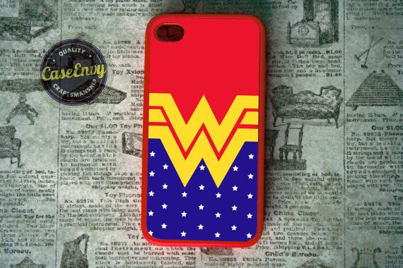 Wonder Woman inspired iPhone 4 / 4s case