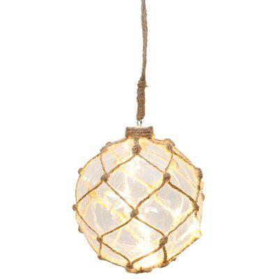 Noah Marin lasipallo S, Star Trading. Koristeellinen lasipallo valonauhalla luomaan kodikasta tunnel...