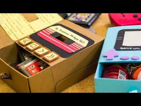 Gamebox: cajita de regalo 90's Rock! - Craftingeek - YouTube
