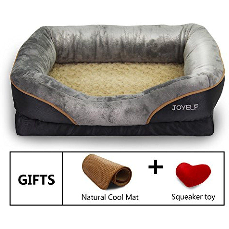 Joyelf Orthopedic Dog Bed Memory Foam Dog Bed Dogs Orthopedic Dog Bed Memory Foam Dog Bed Dog Bed