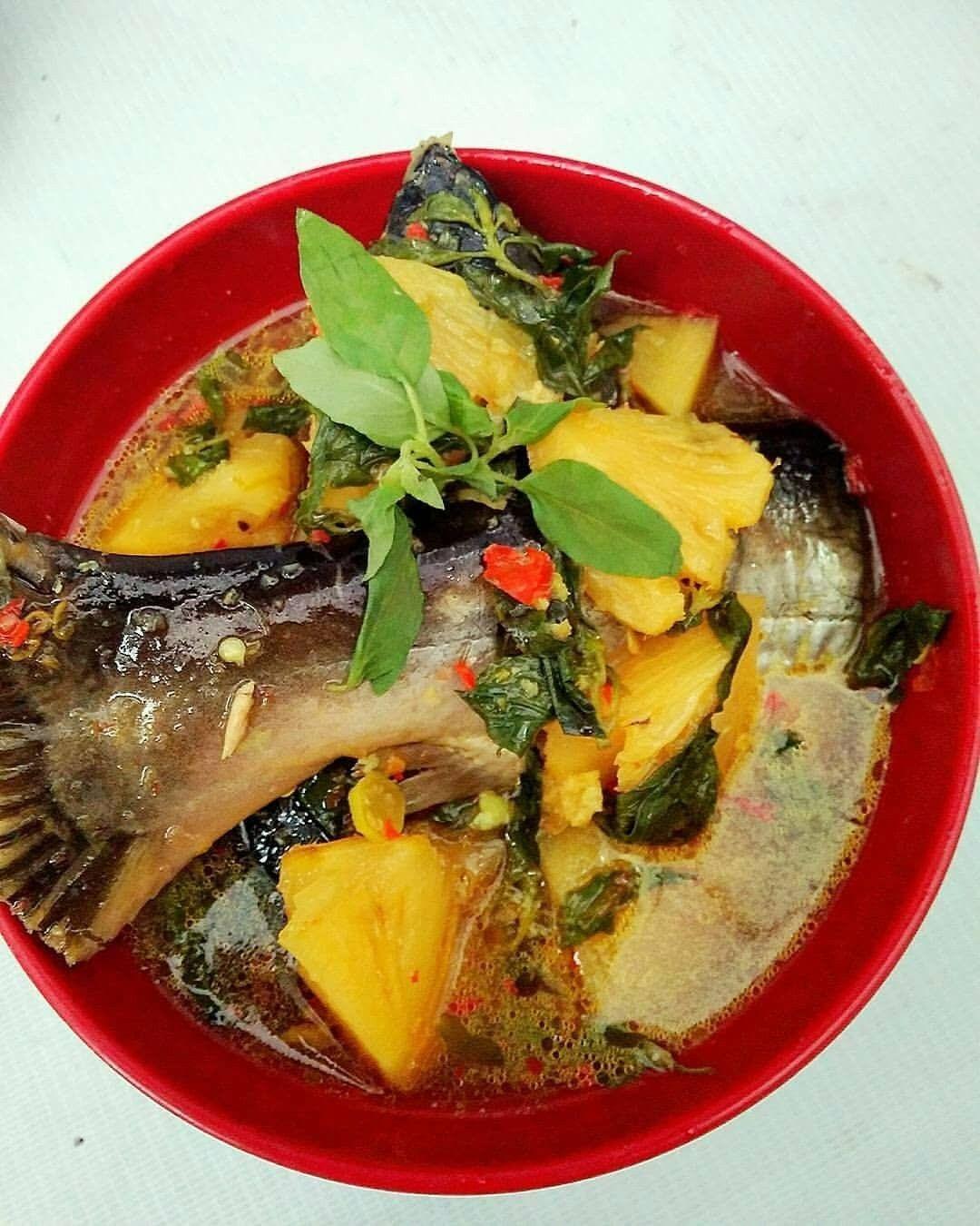 Pindang Ikan Patin Makanan Masakan Kacang Merah