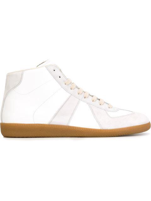 Replica hi-top sneakers - White Maison Martin Margiela 20deS