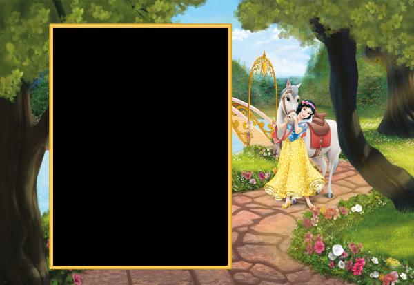Princess Snow White Cute Transparent Png Frame Disney Princess Snow White Kids Frames Disney Printables