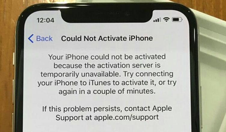 How To Fix Could Not Activate Iphone Error On Iphone X Iphone Apple Support Activated