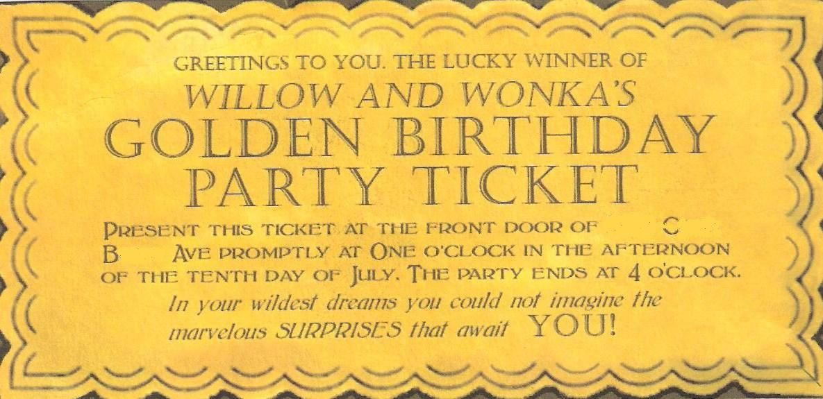 Willy Wonka Birthday Invitations | My Birthday | Pinterest | Willy ...