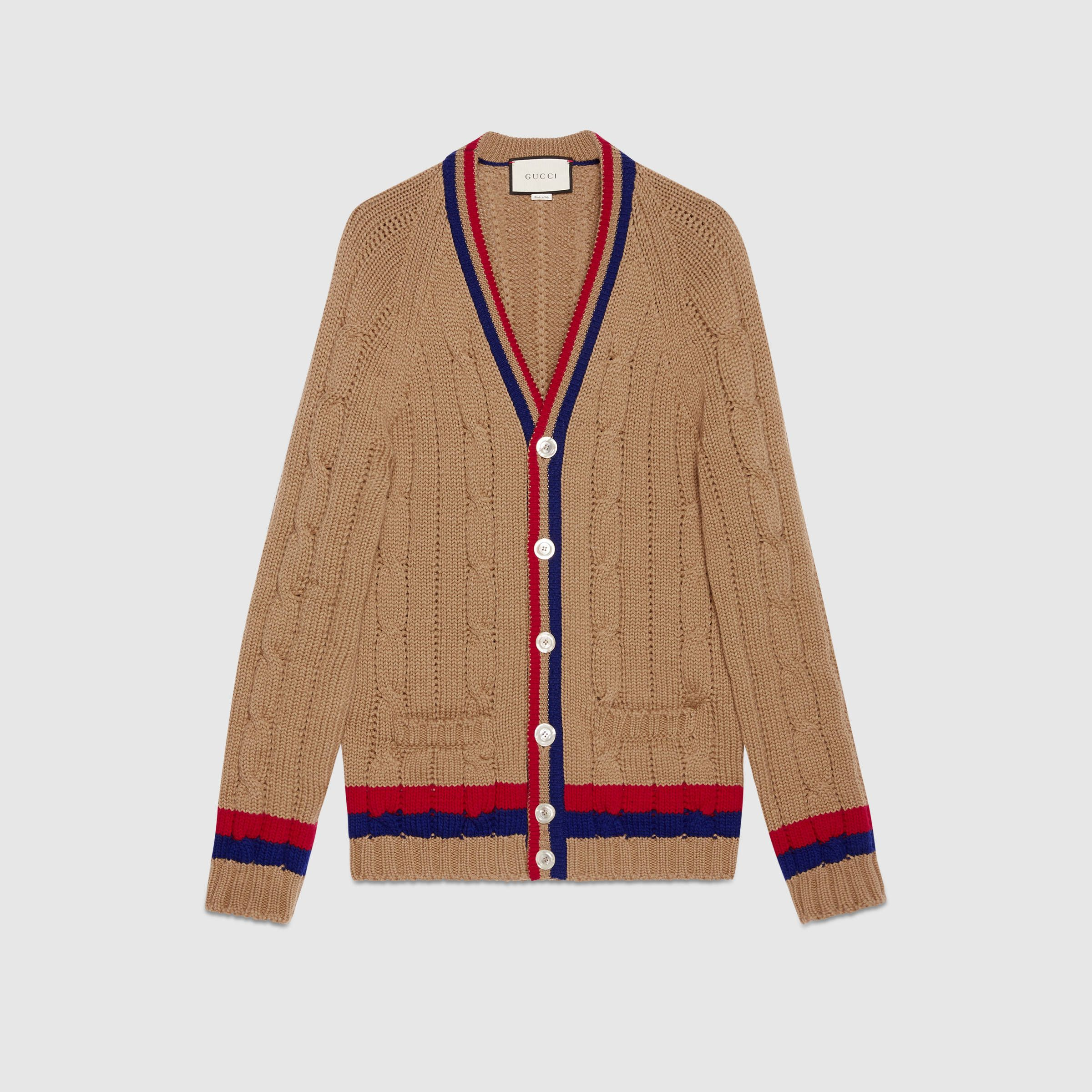 Wool cable-knit cardigan | Threads and Threats | Pinterest ...