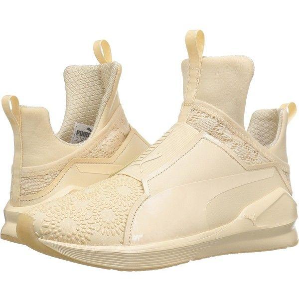 PUMA Fierce KRM (Dawn/Puma White) Women's Shoes ($110) ❤ liked