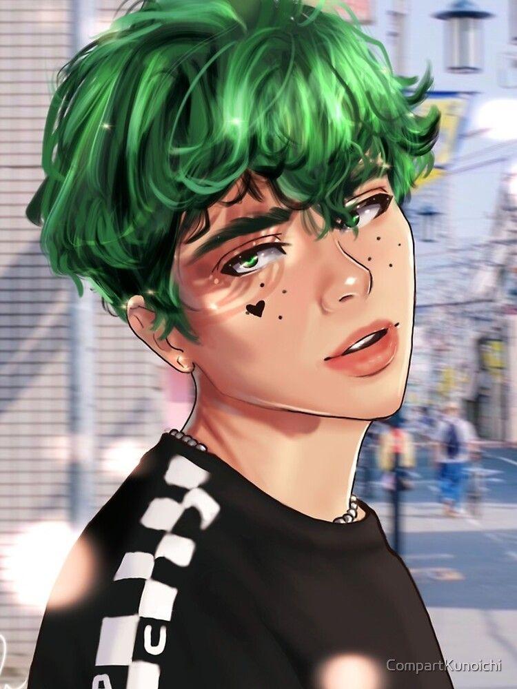E Boy Deku Iphone Case Cover By Compartkunoichi Redbubble Anime Boy Hair Boy Hair Drawing Boy Hairstyles