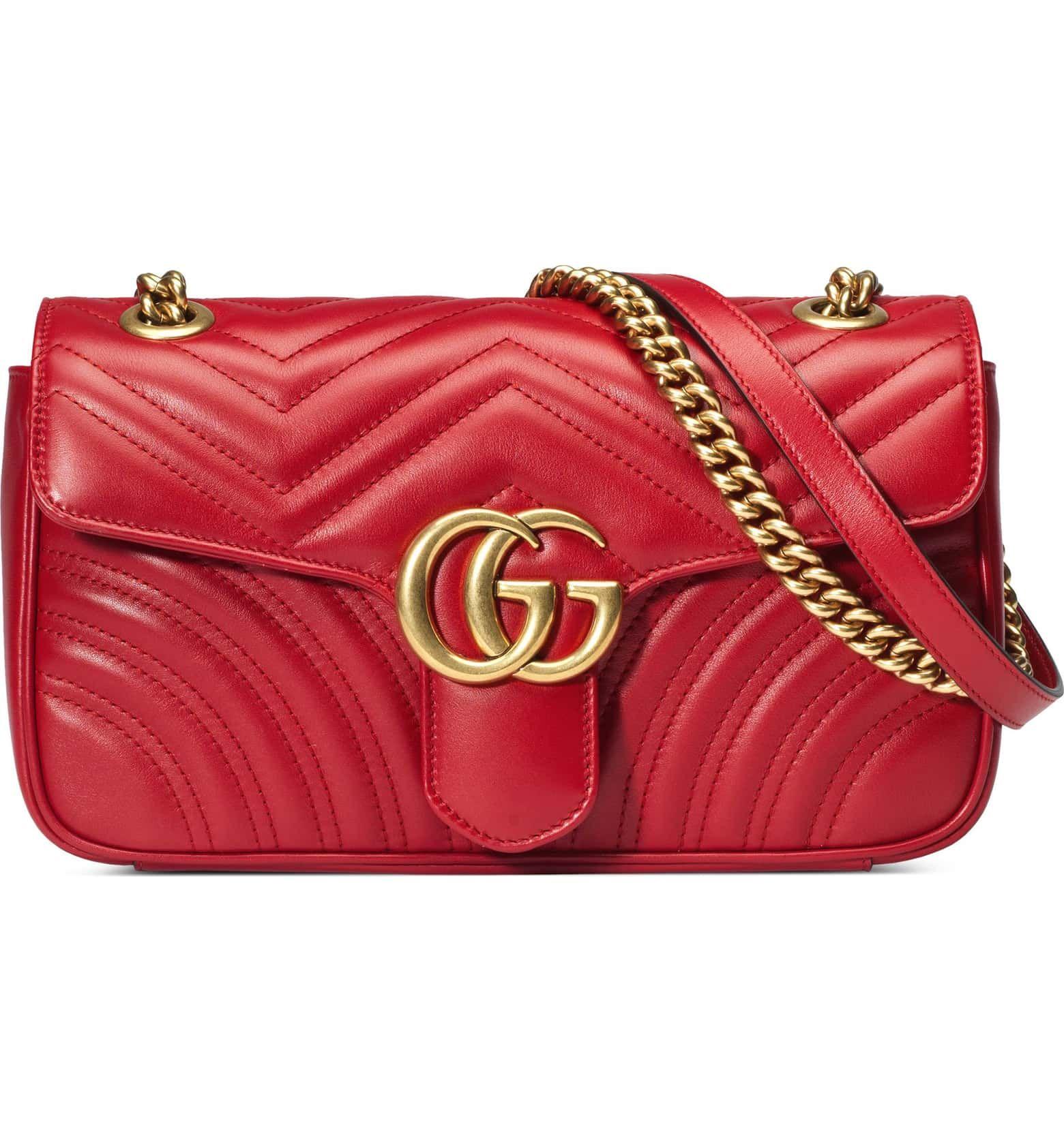 c6a974234a6 Small GG Marmont 2.0 Matelassé Leather Shoulder Bag