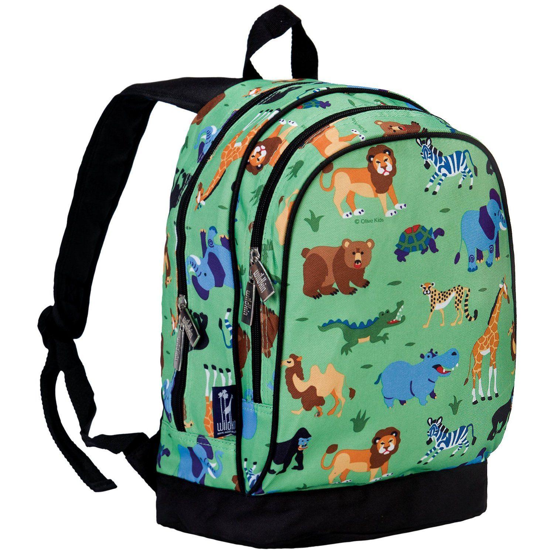 fc11fecc202e Wildkin Olive Kids Wild Animals Sidekick Backpack