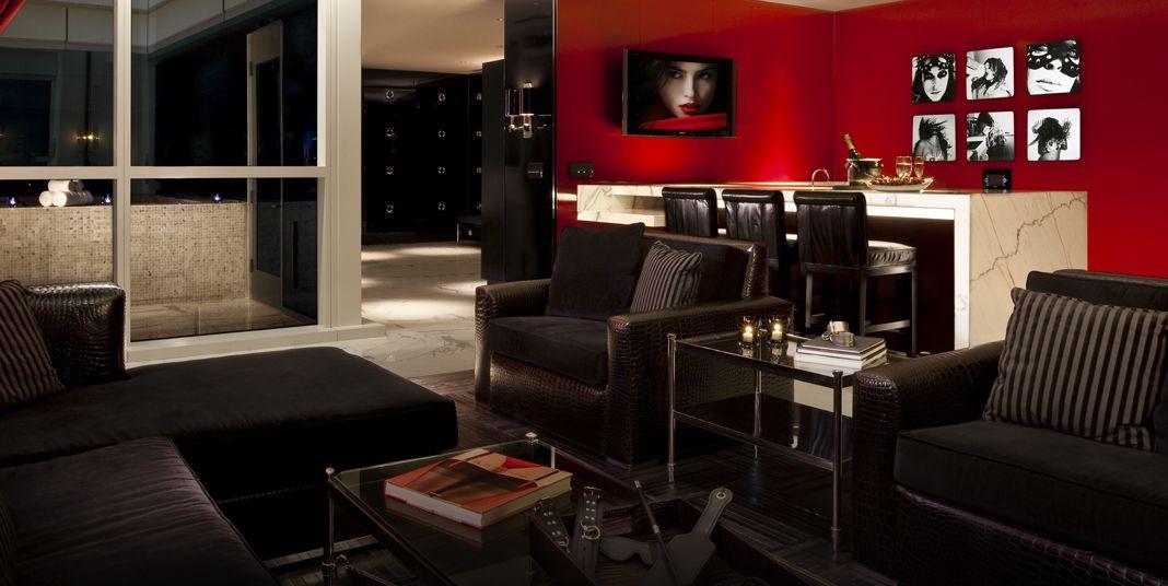 Provocateur Suite | HRH All-Suite Tower | Hard Rock Hotel Las Vegas ...