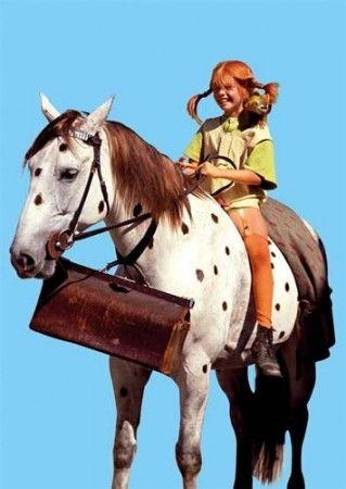 Pferd Pippi Langstrumpf