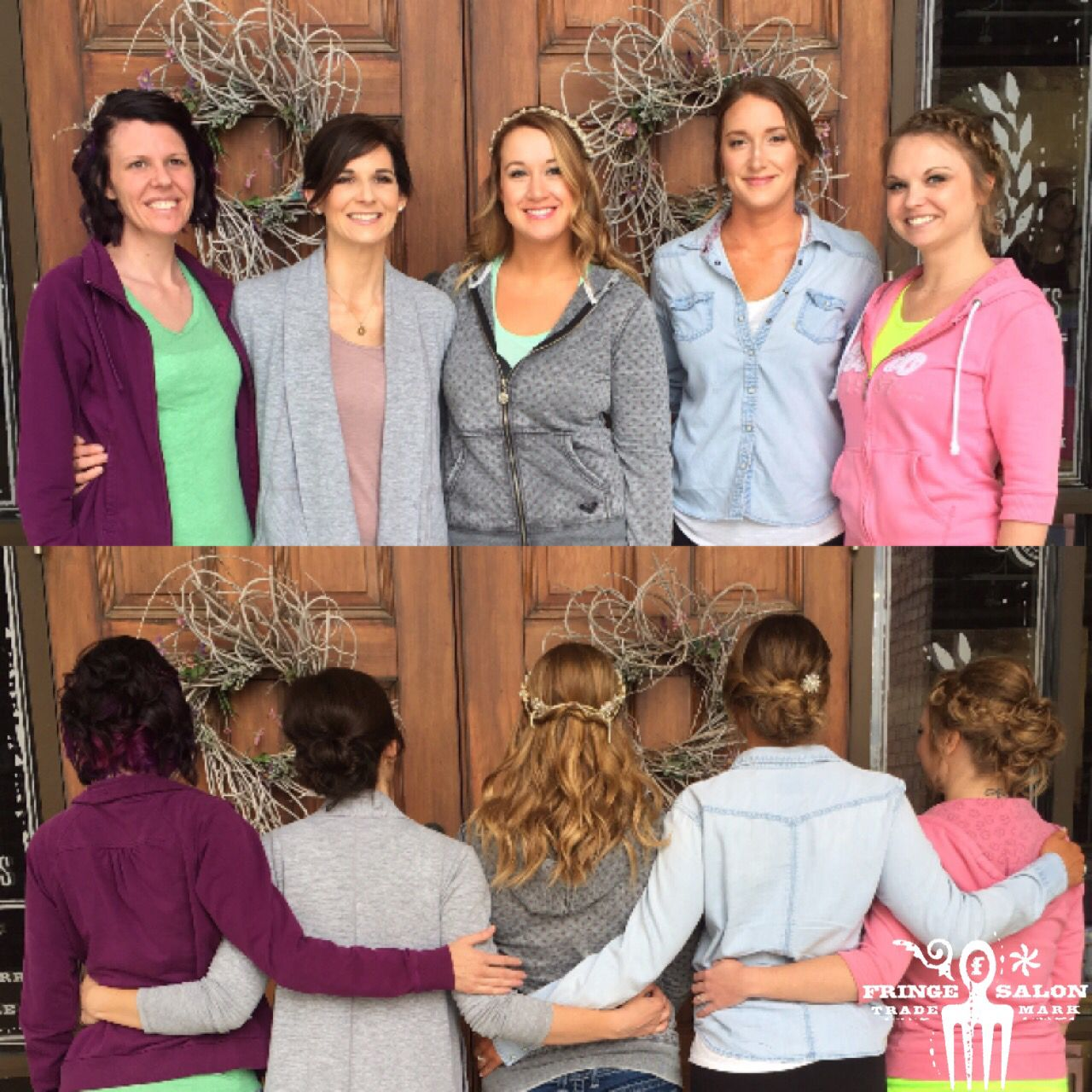 wedding hair & makeup by julie, lauren, mariah, alexx & kendi at