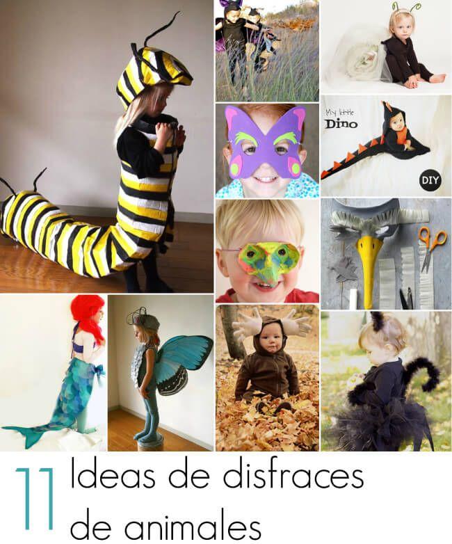 673488f69 11 Ideas de disfraces de animales para hacer en casa | disfraces en ...