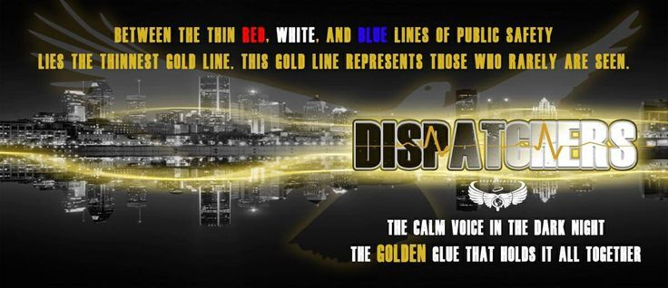 911 Dispatch Gold Line