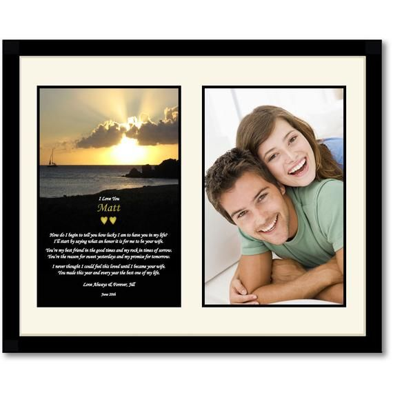 Gift for Husband - Personalized Anniversary or Birthday ...