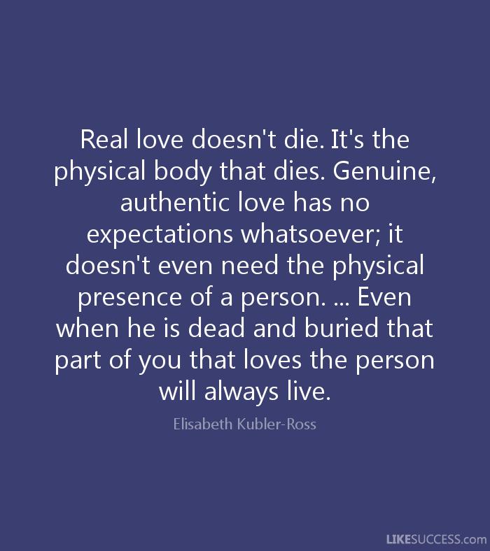Quote by Dr. Elisabeth Kübler Ross - See more at: Elisabeth ...