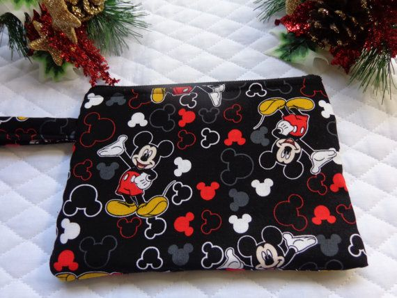 Hey, I found this really awesome Etsy listing at https://www.etsy.com/listing/171567191/makeup-bag-mickey-mouse