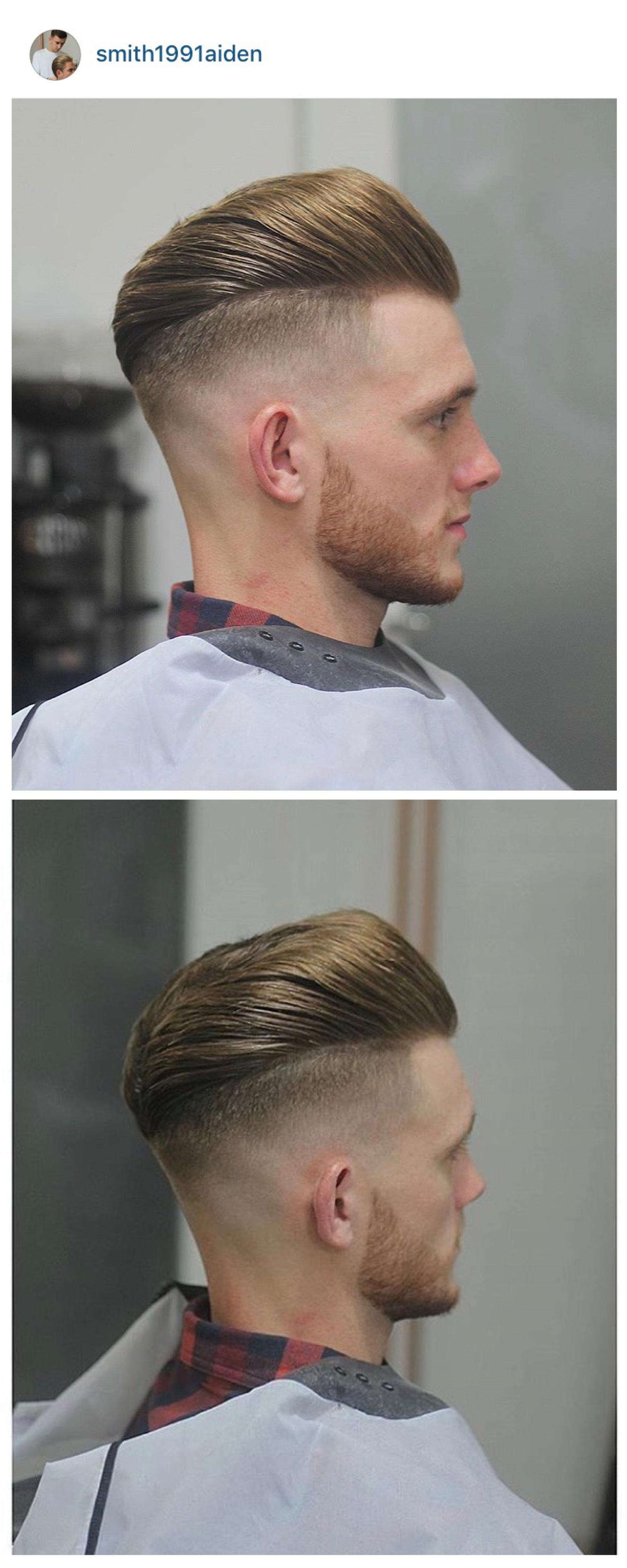 Mens haircuts short sides long top menus hair haircuts fade haircuts short medium long buzzed