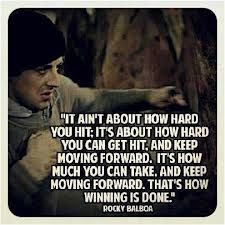 Youll Get Knocked Down Sometimes But Remember Its Not About
