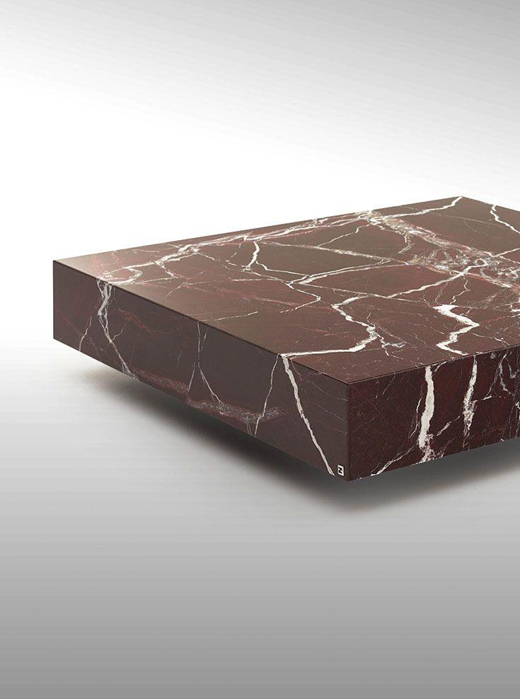 fendi casa - quadrum marble coffee table detail www
