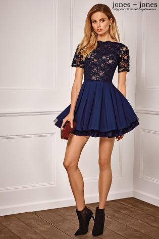 Buy Jones   Jones Lace Top Prom Dress from the Next UK online shop ... 430f56af9030