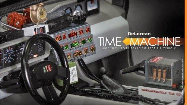 Galaxy Fantasy: Máquina del tiempo DeLorean reproducida al detalle en una maqueta de gran tamaño