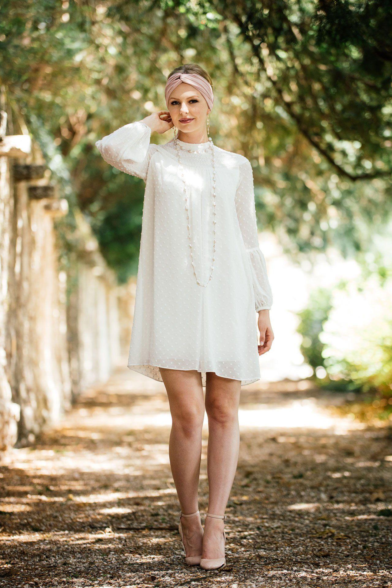 Ein außergewöhnliches Standesamt Hochzeitskleid für eine ...