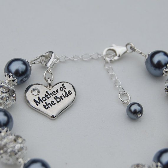 mother of the bride bracelet mother of the groom jewelry romantic