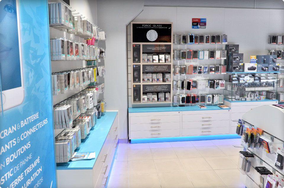 La Paraphonie Au Centre Leclerc Carpentras Reynier Agenceur Agenceur Galerie Commerciale Mobilier De Salon