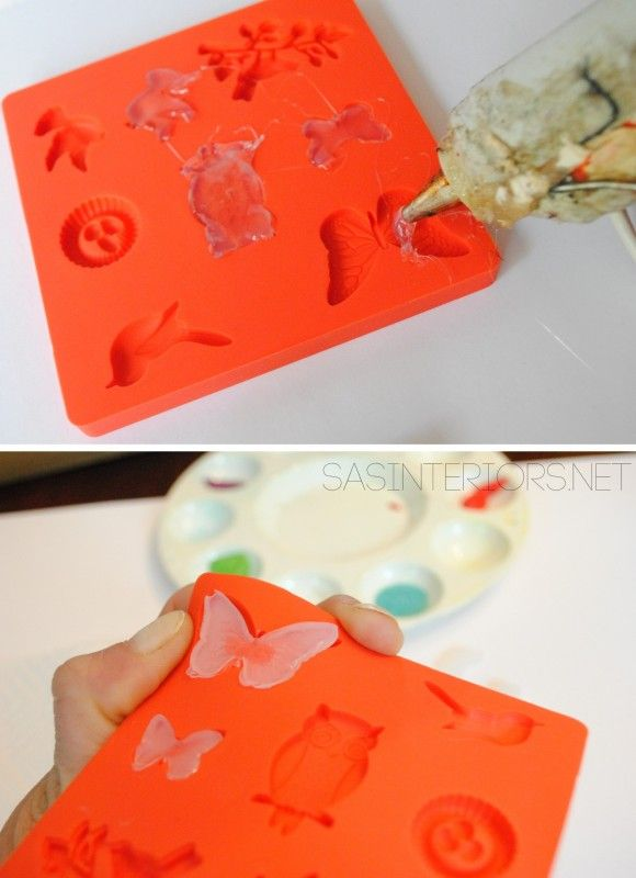 Before And After Kids Jewelry Box Spray Paint And