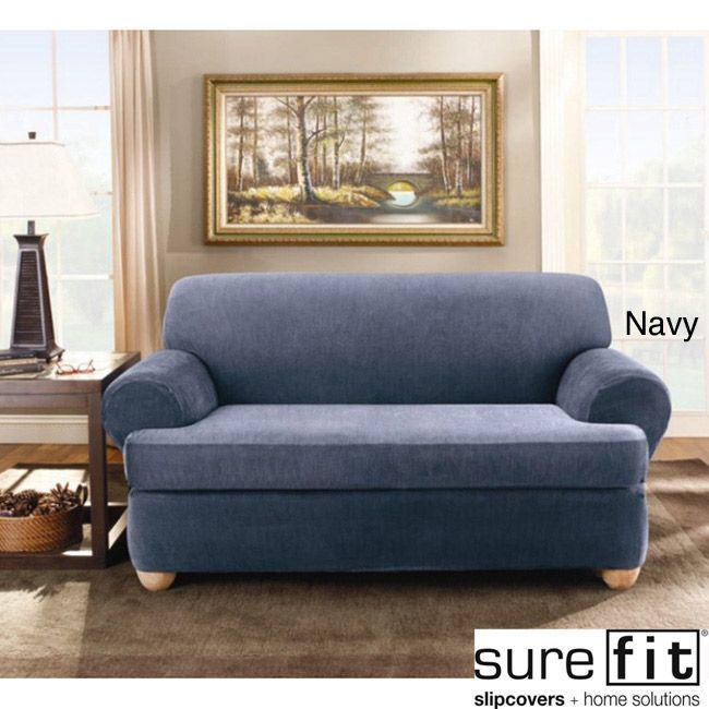 Ikea Sofa Bed Sure Fit Stretch Stripe piece T cushion Loveseat Slipcover by Sure Fit A well Cushions and Shopping