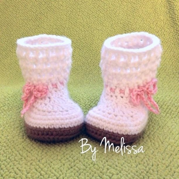 Crocheted Booties | Modelos crochet bebés | Pinterest | Para bebés ...