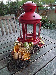 Dekorácie - Vianočný lampášik - 3264363