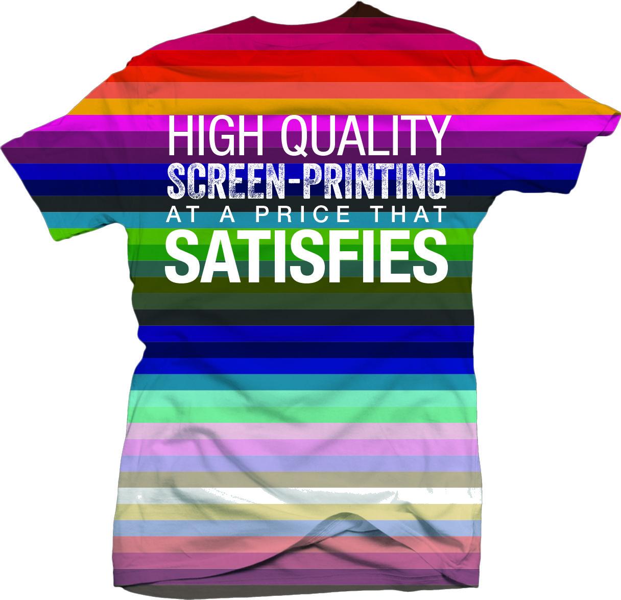 Tee Vision Printing We Provide High Quality Screen Printing At An